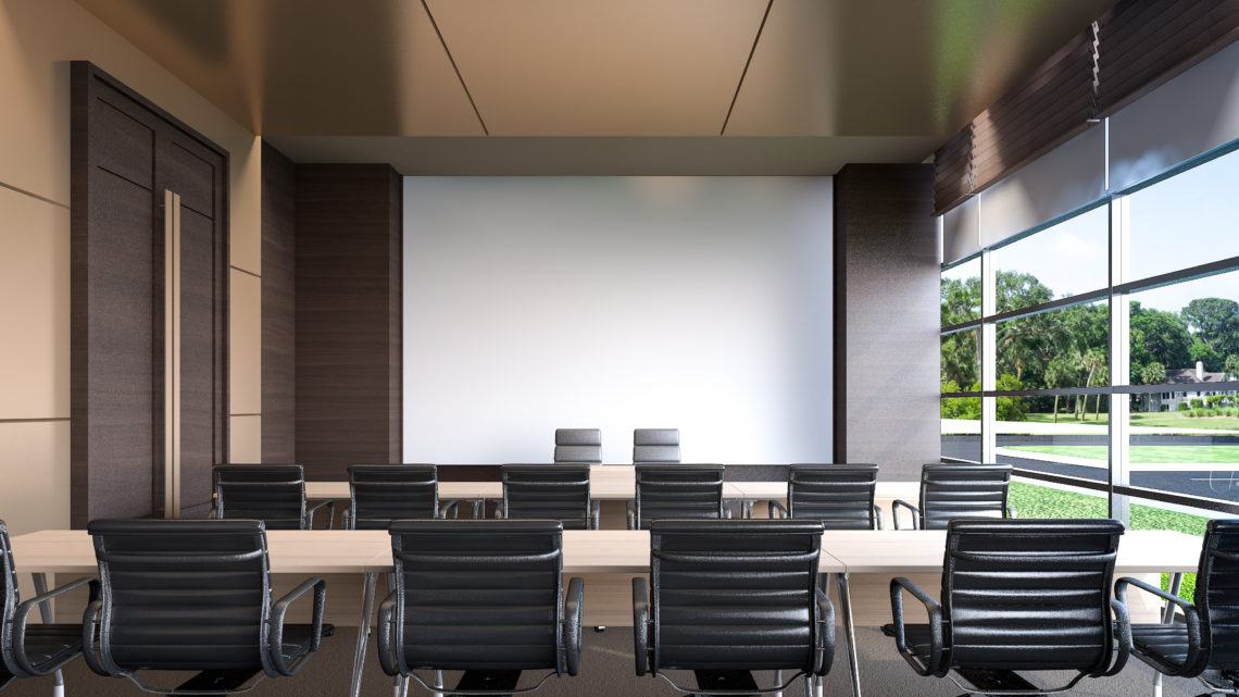 Large conference room in hotel- Device Support