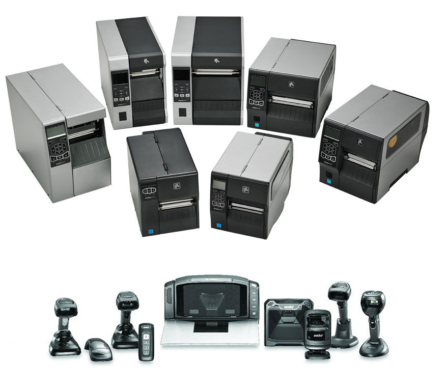 A Variety of Printers and Barcode Scanners - Device Support