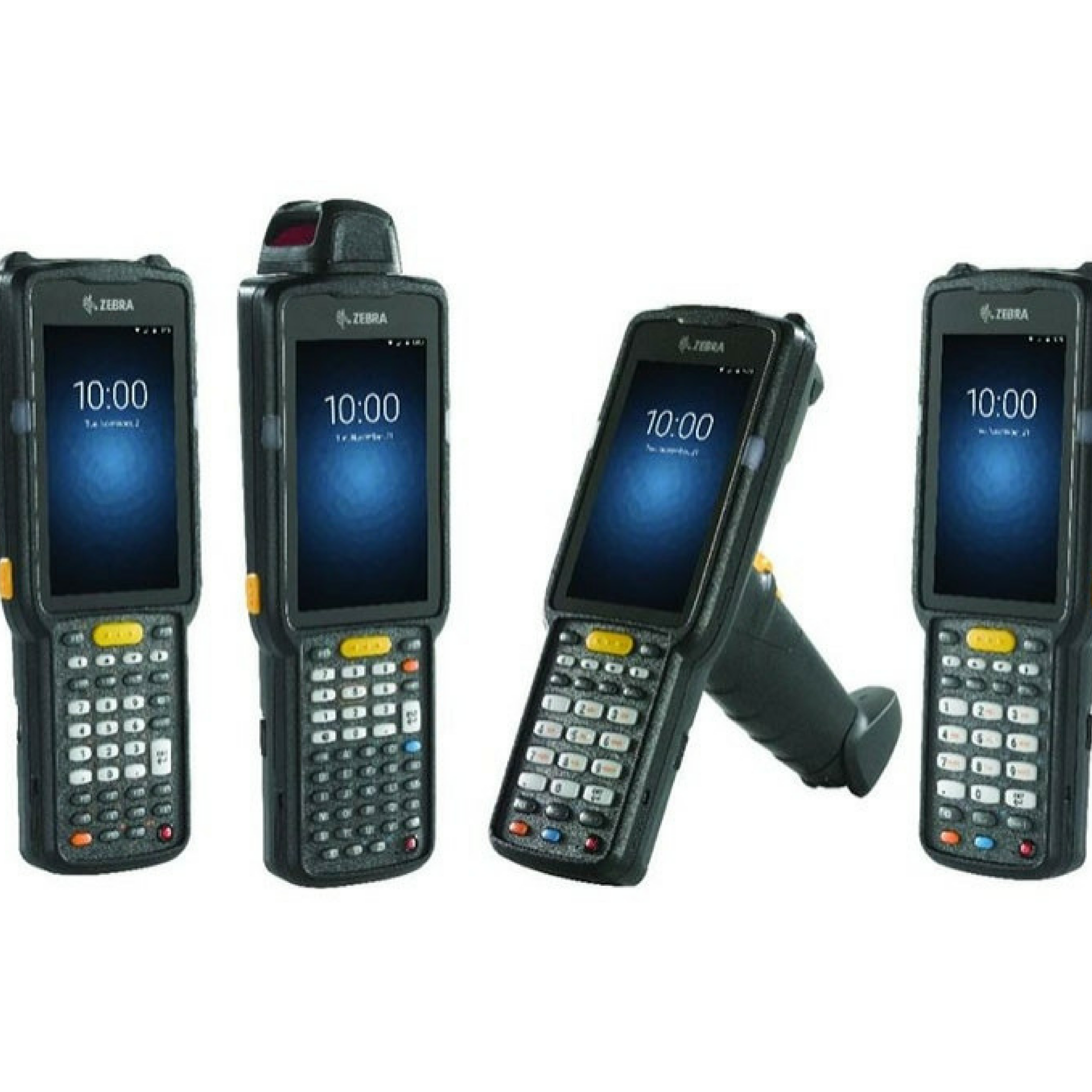 Lineup of Zebra Scanners