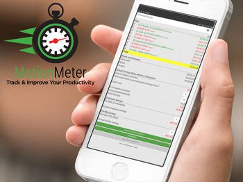 MotionMeter - Track and Improve your Productivity