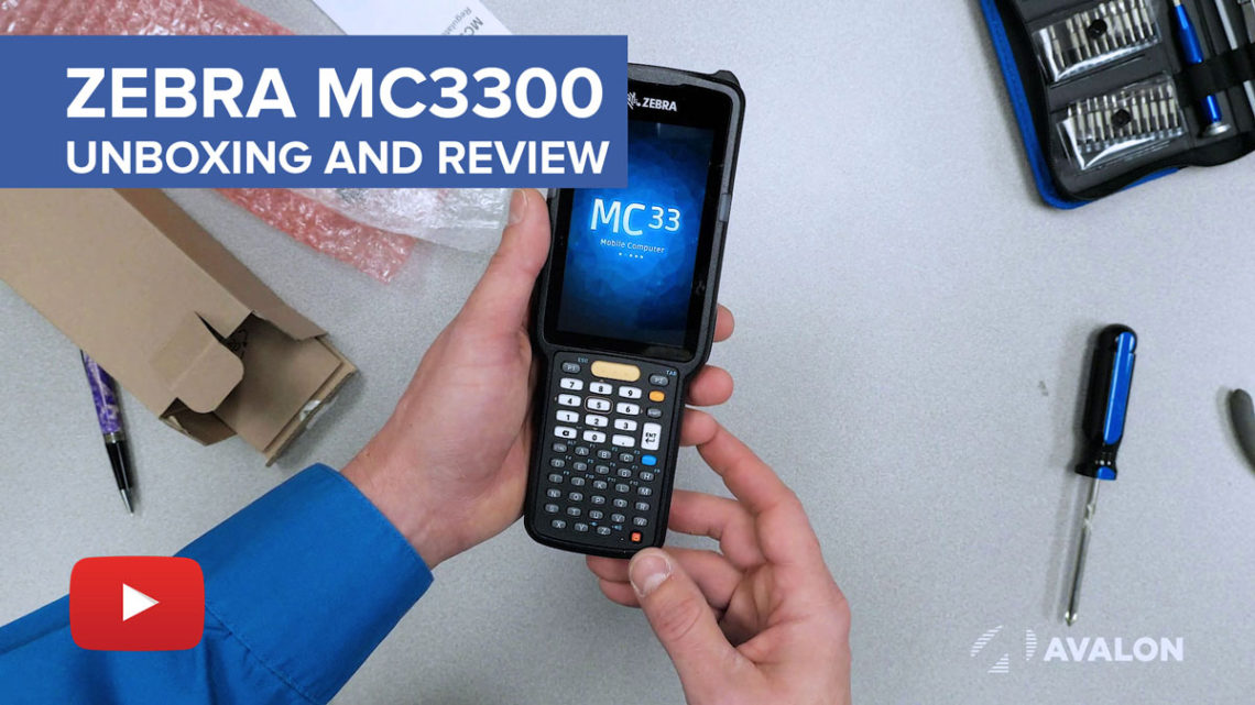 Zebra MC3300 Unboxing and Review YouTube Video