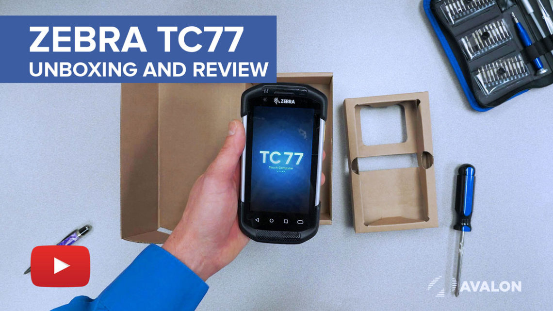 Zebra TC77 Unboxing and Review YouTube Video
