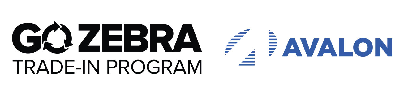 Go Zebra Trade-in Program and Avalon Integration Logos