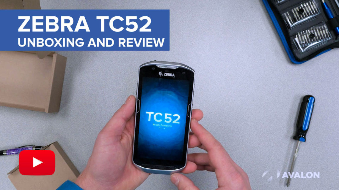 Zebra TC52 Unboxing and Review YouTube Video
