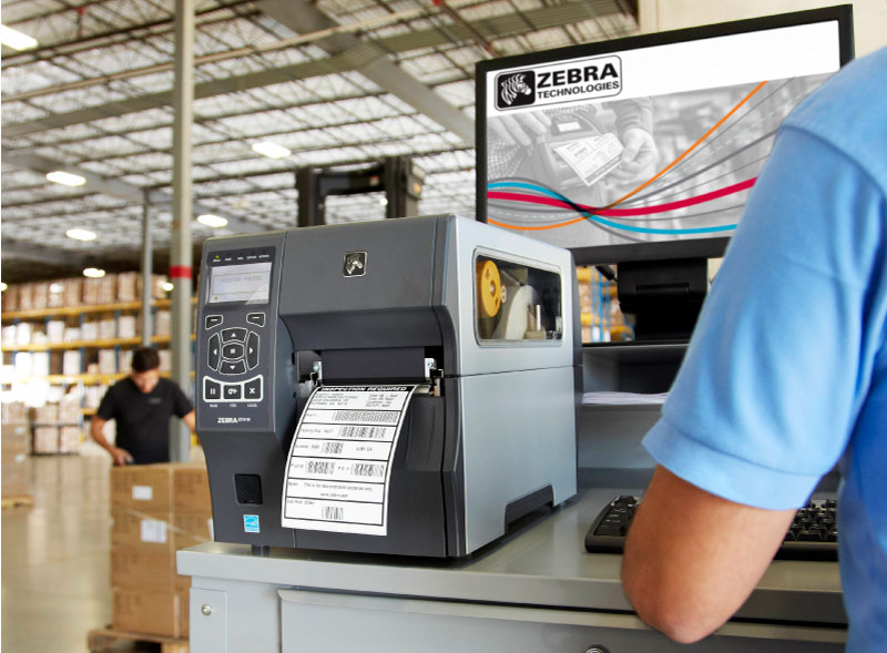 Zebra High Resolution Barcode Printer