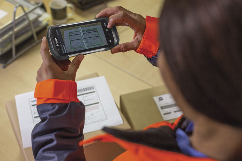 The TC77 Simplifies route accounting for your Mobile Workforce