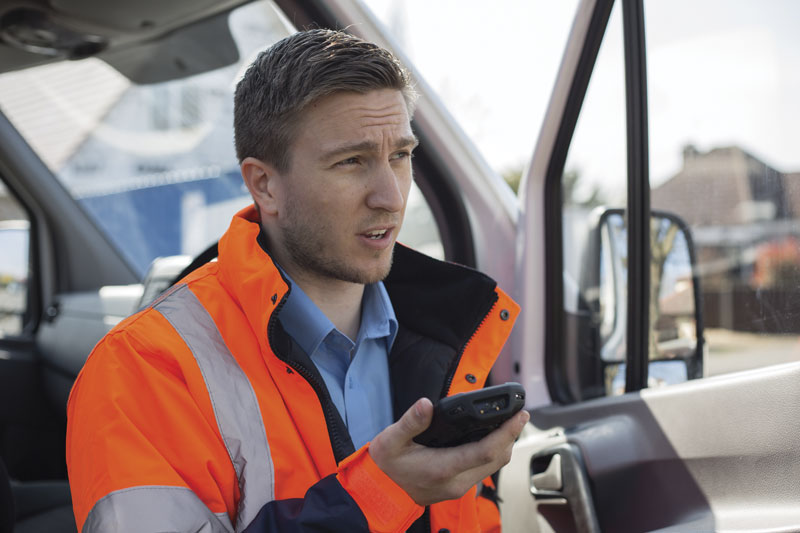 With the TC77 the Mobile Workforce can do Video Conferences with ease from anywhere