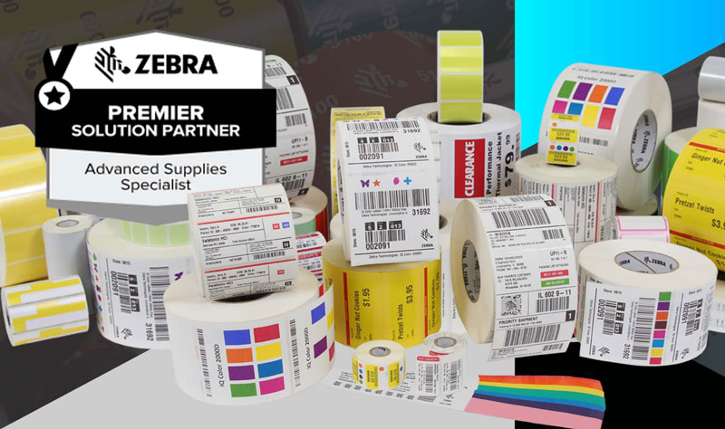 Zebra Premier Solution Barcode Printer Supplies
