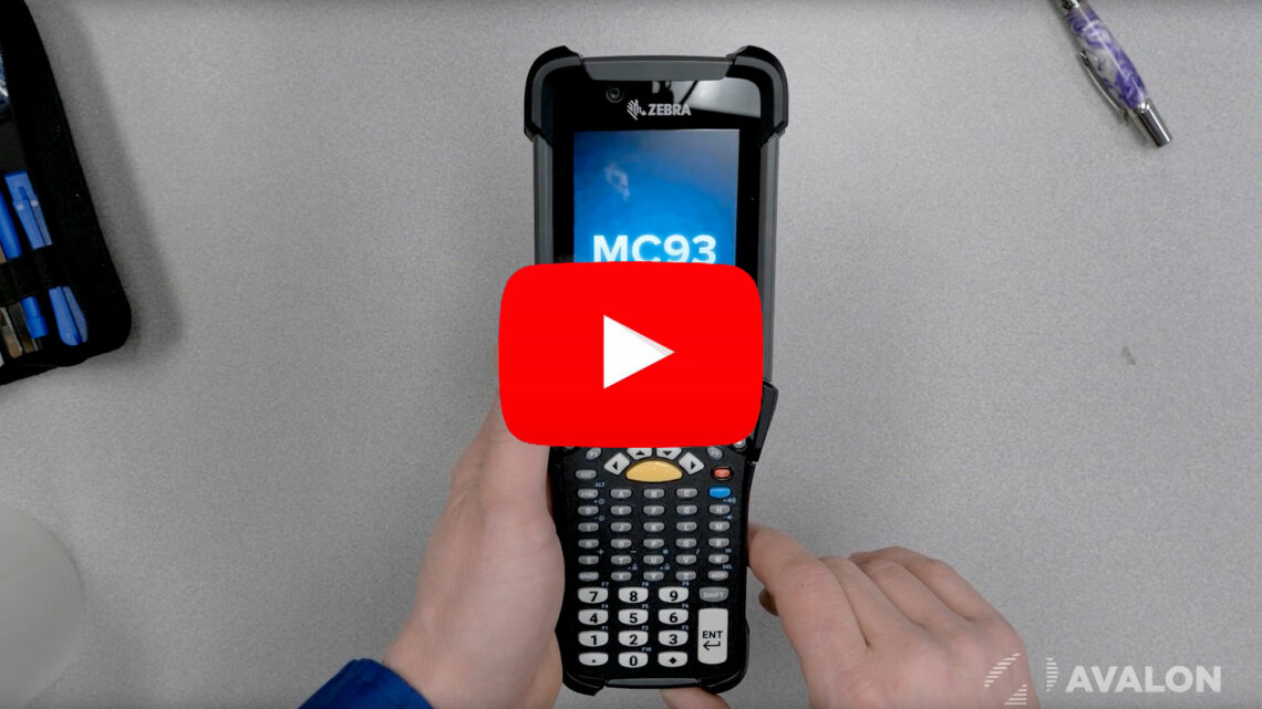 Zebra MC9300 Unboxing and Review YouTube Video