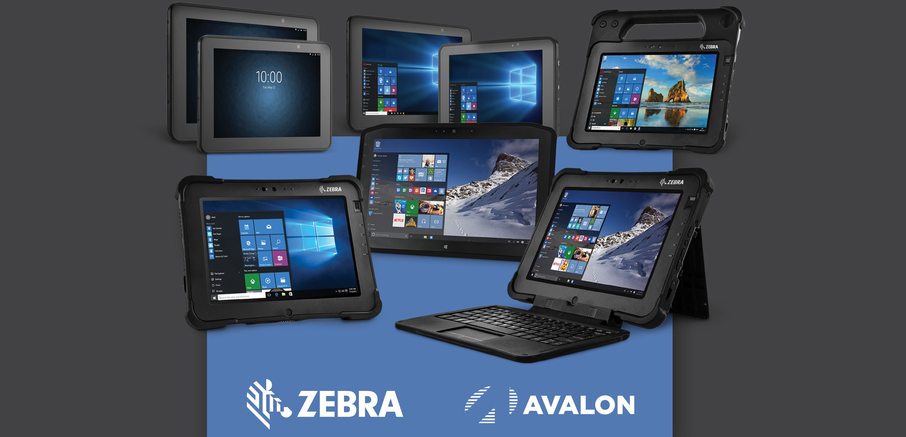 Zebra Rugged Tablets with Avalon Integration