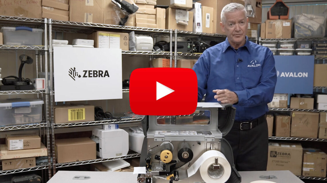 Zebra Certified Labels Tips and Hints YouTube Video