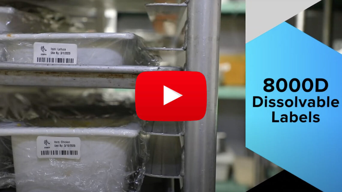 8000D Dissolvable Labels Videos