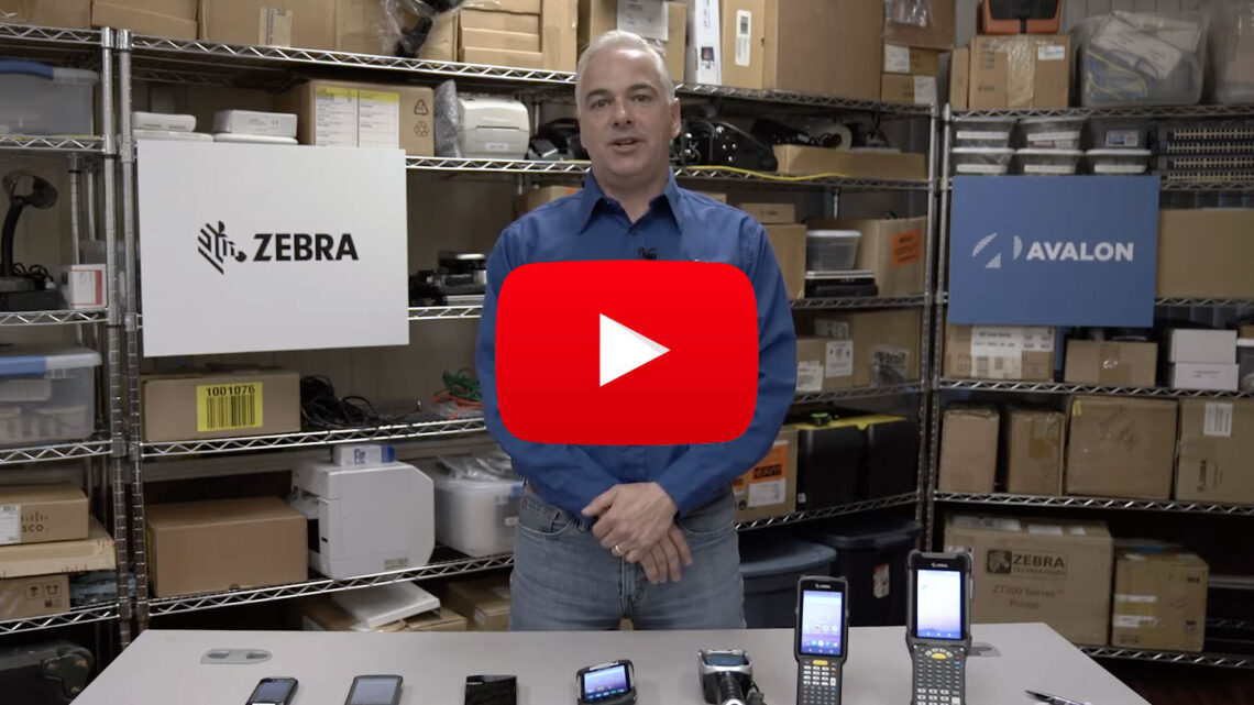 Zebra Mobile Lineup Video