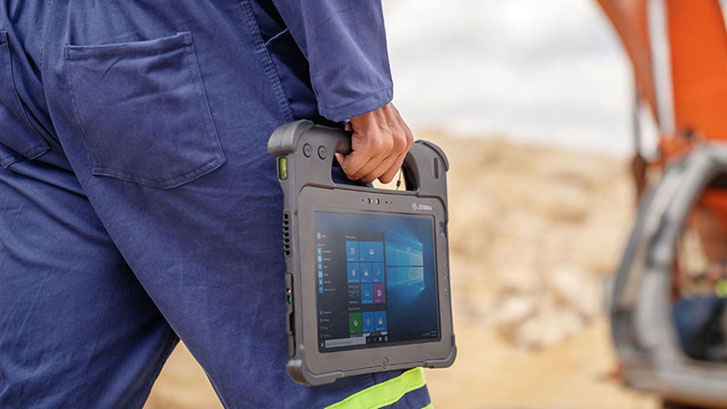 Improve your Supply Chain for your field services workers with the L10 Tablet