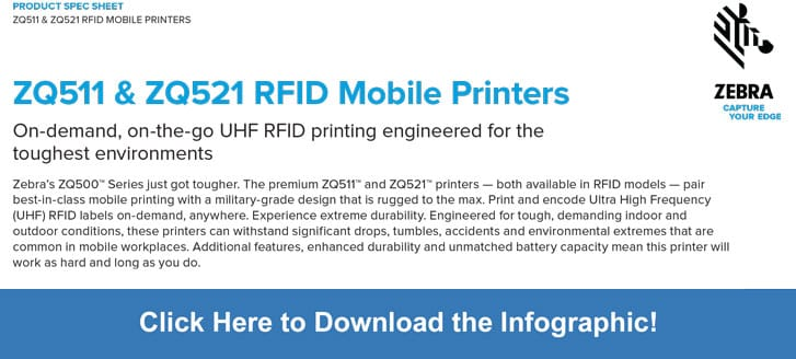 Download the ZQ511 and ZQ521 Infographic